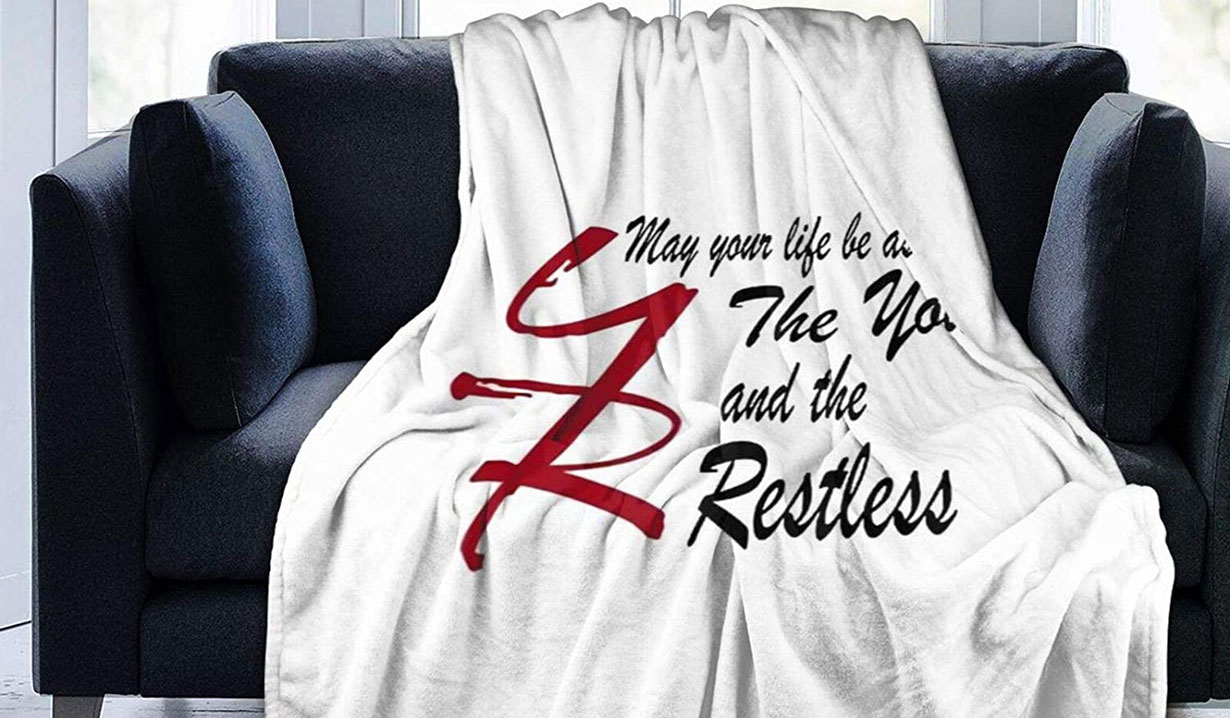 young restless blanket
