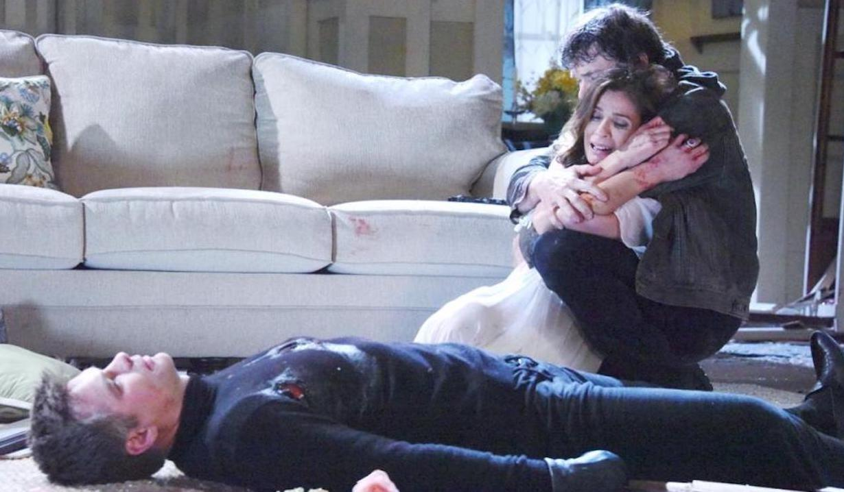 Bo saves Hope from Aiden Days of our Lives