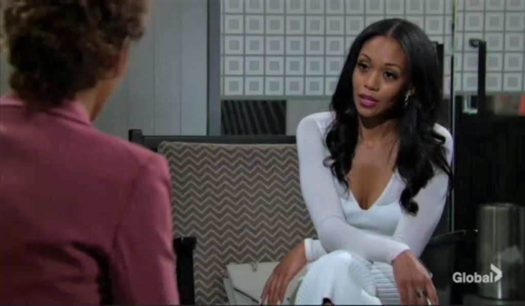Amanda asks Lily for a favor at Chance Com Y&R