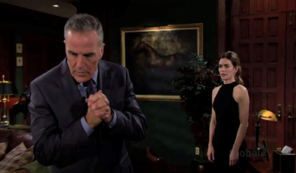 Victoria asks Ashland to move in with her at Newman Y&R