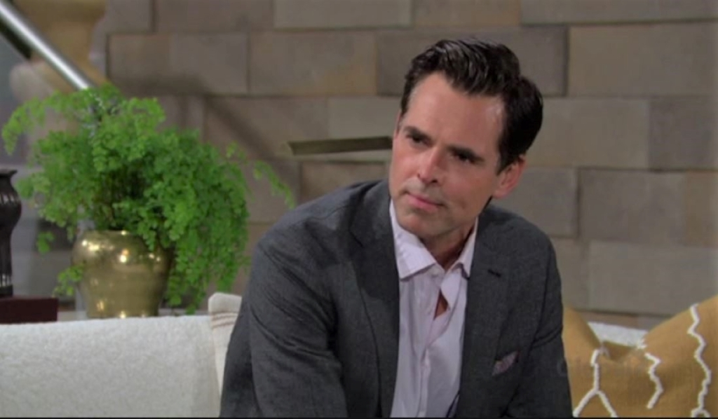 Billy and Lily discuss Victoria and the merger at home Y&R
