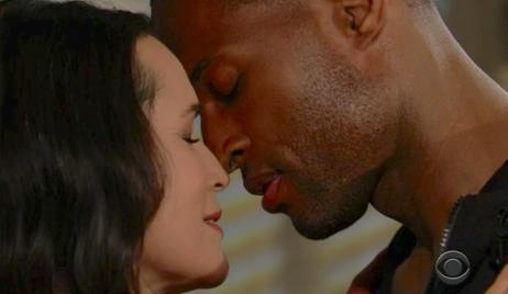 Carter and Quinn B&B Kiss