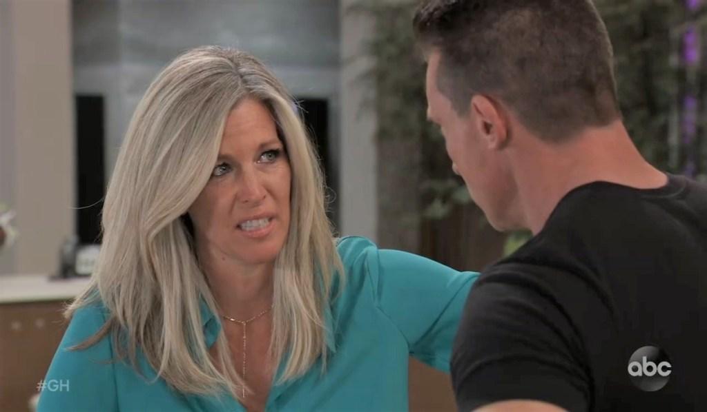 Carly and Jason talk Britt at General Hospital