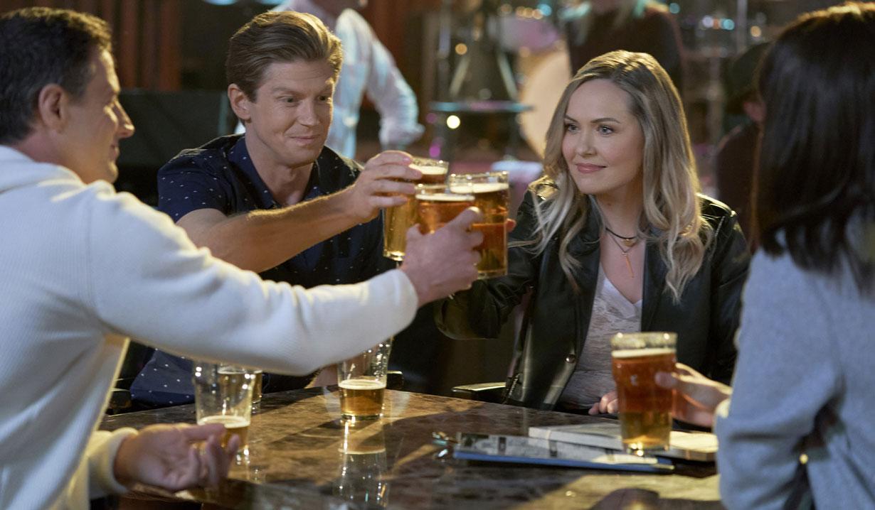Chesapeake Shores season five O'Brien siblings bar Hallmark