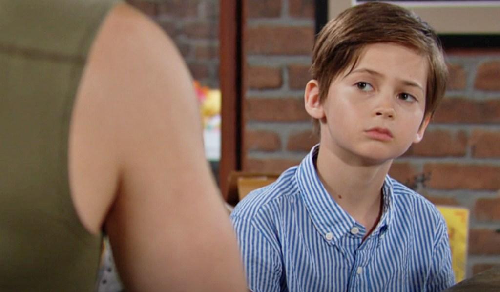 Connor listen Rey Y&R