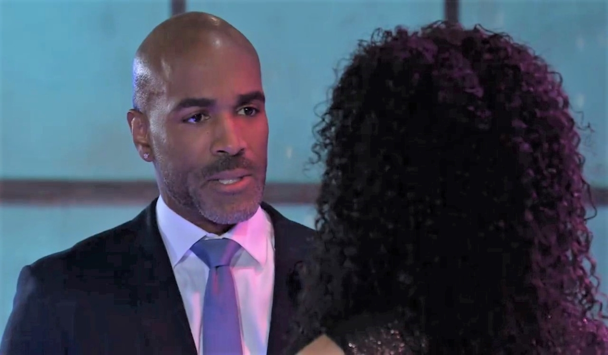 Portia tells Curtis she's interested at The Savoy General Hospital