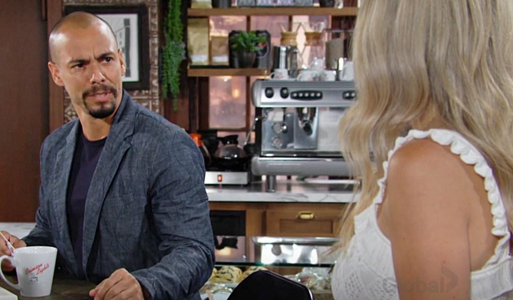 Devon, Abby discuss Mariah Y&R