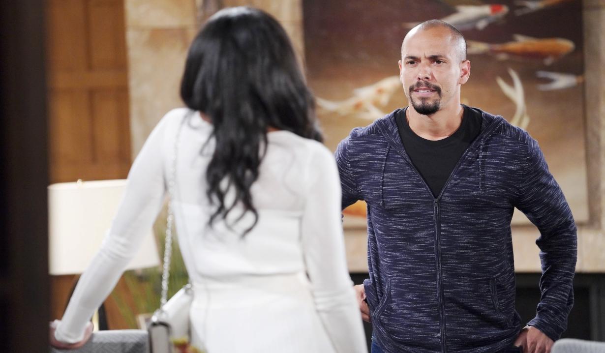 Devon and Amanda talk Victor Y&R