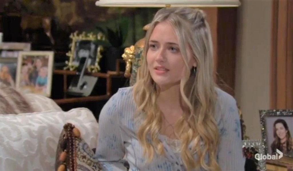 Faith is awkward with Moses at ranch Y&R