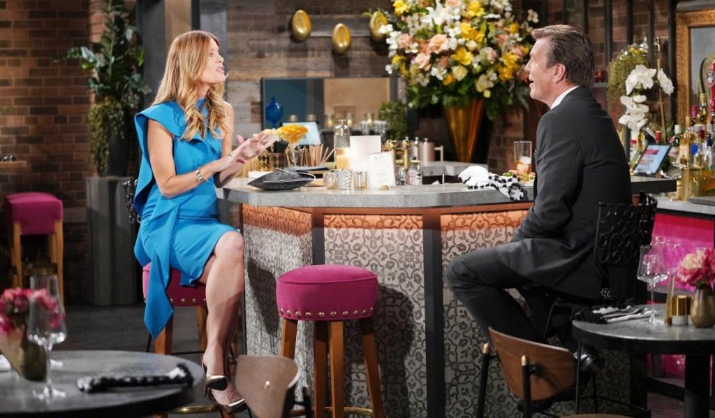 Jack and Phyllis talk Tara at Society Y&R