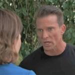 Liz tells Jason Peter is dead in park General Hospital