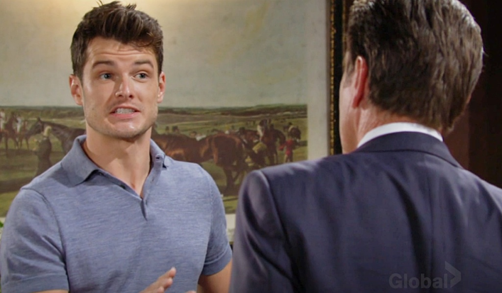Kyle, Jack bicker about Sally Y&R