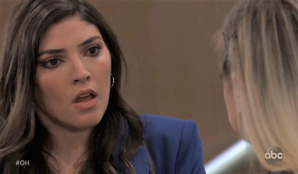 Brook Lynn and Maxie talk Austin at General Hospital