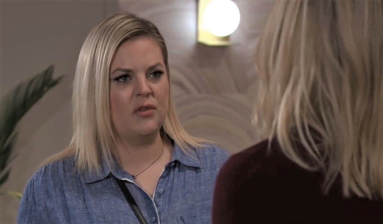 Maxie tells Nina truth about Louise at her place General Hospital