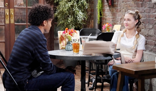 Moses and Faith talk about Togerlily at Crimson Lights Y&R