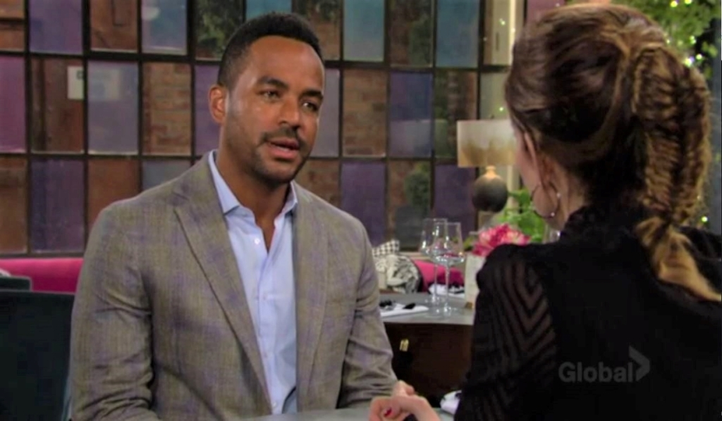 Nate gives Victoria advice for her 'friend' at Society Y&R