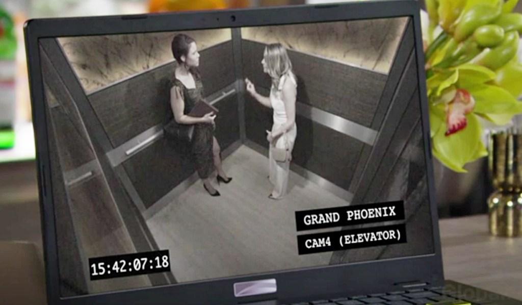 Phyllis watch footage Sally & Tara Y&R
