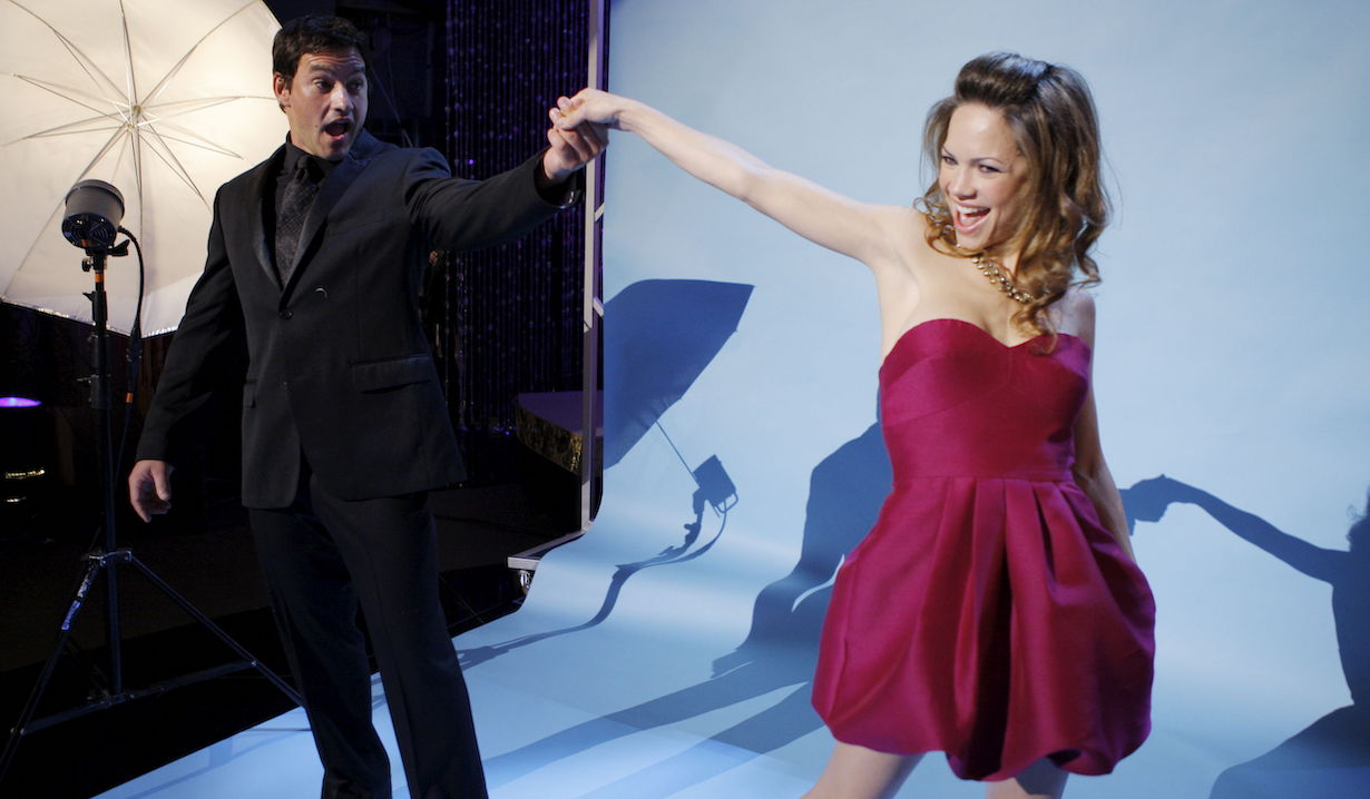 Rebecca Herbst, Tyler Christopher36th Annual Daytime Emmy Awards - Show, Rehearsal, BackstageOrpheum TheatreLos Angeles8/30/09© Sean Smith/jpistudios.com310-657-9661