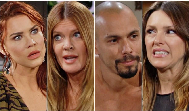 Sally, Phyllis, Devon, Chloe Y&R