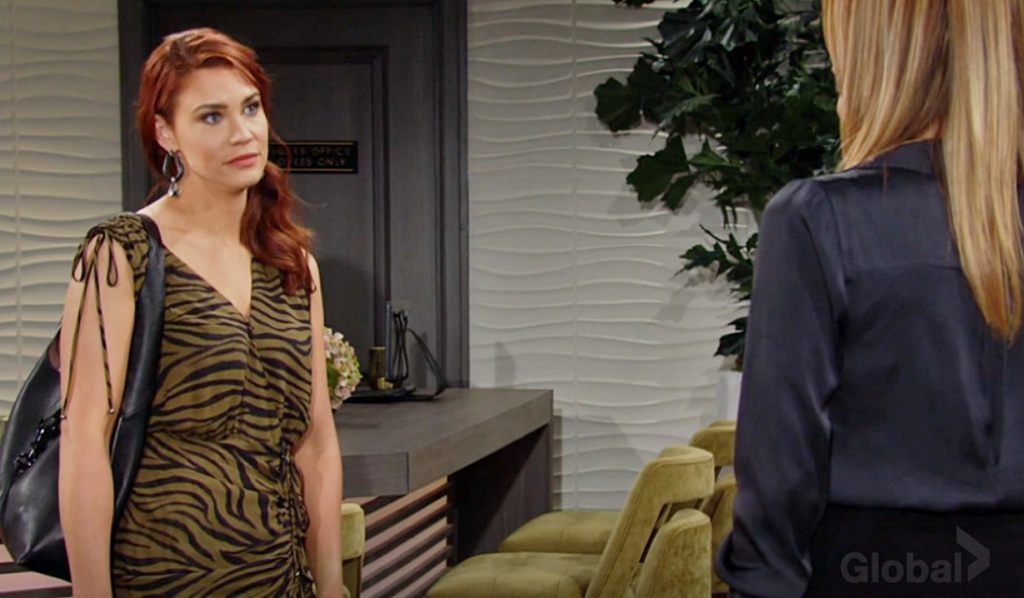 Sally, Phyllis square off Y&R