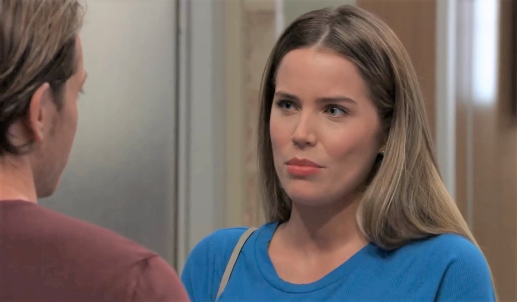 Sasha tells Michael she has doubts at General Hospital