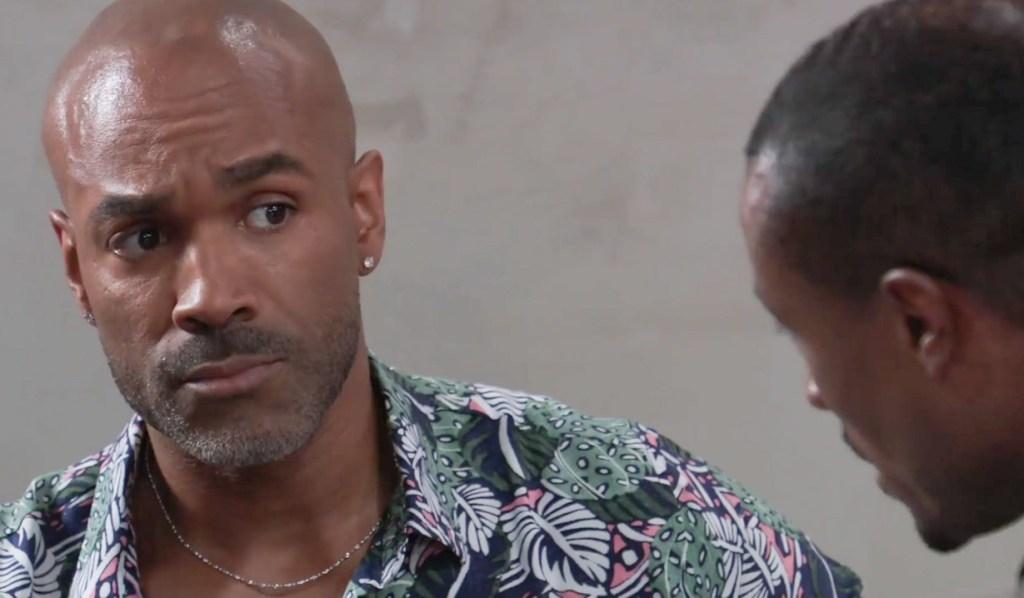 Shawn asks Curtis for Help GH