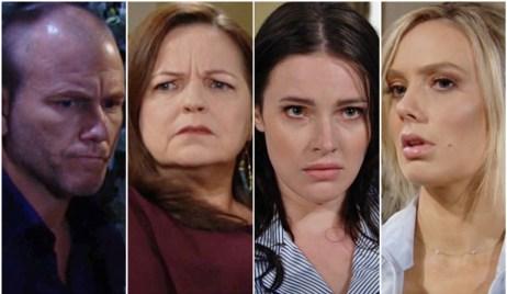 Stitch, Nina, Tessa, Abby Y&R