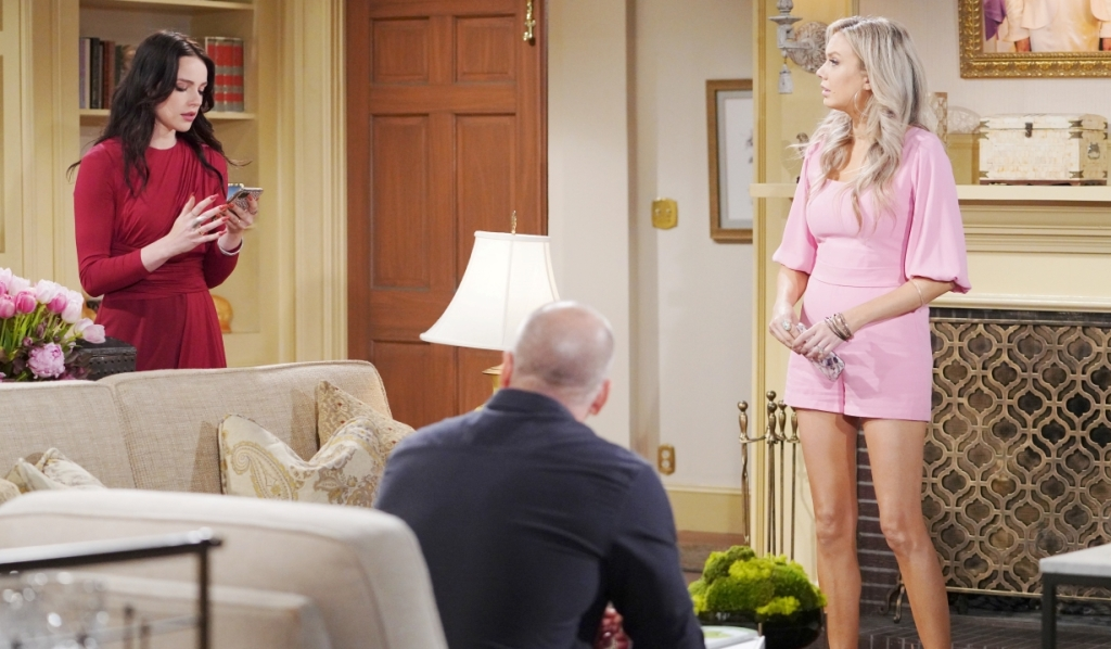 Stitch, Abby and Tessa worry about Mariah at Chancellor estate Y&R