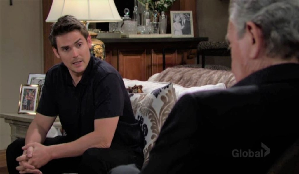 Adam and Victor talk Chelsea at ranch Y&R