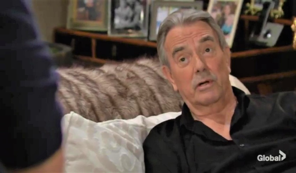 Victor and Adam talk at the ranch Y&R