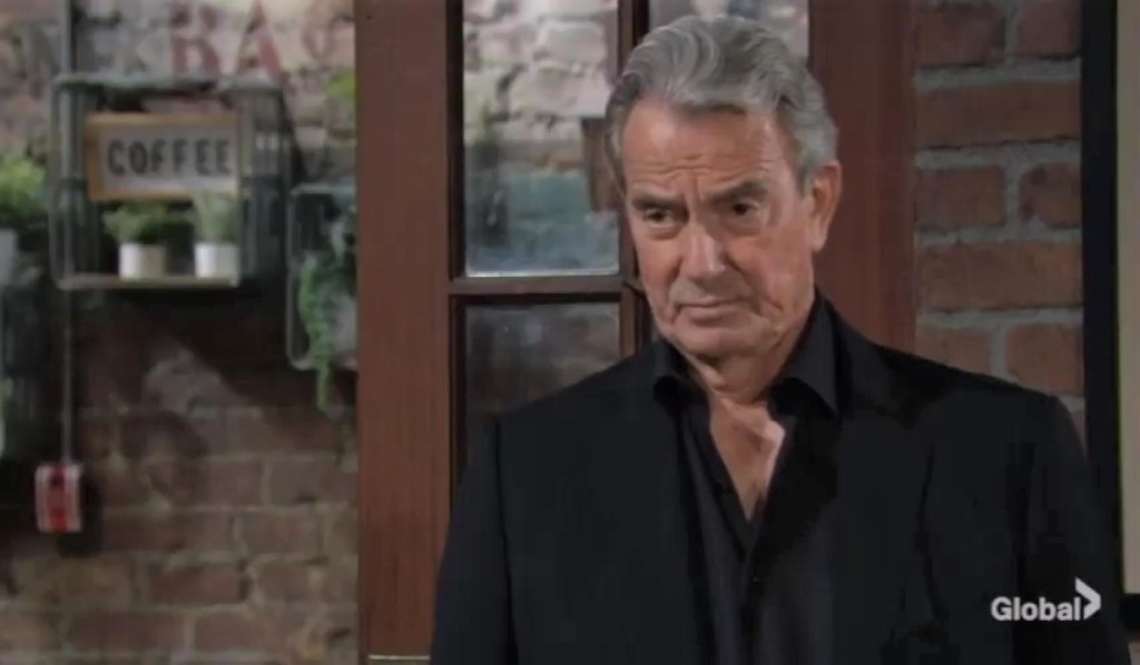 Victor tries to stop Chelsea at Crimson Lights Y&R
