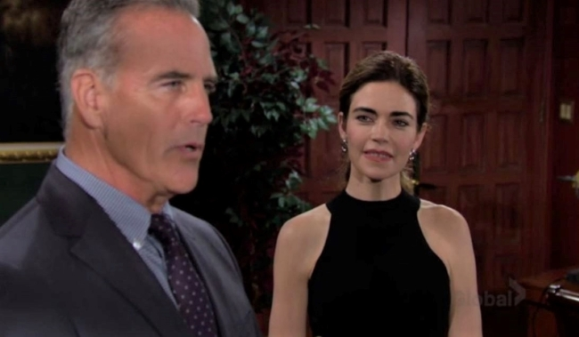 Victoria and Ashland give livestream at Newman Y&R