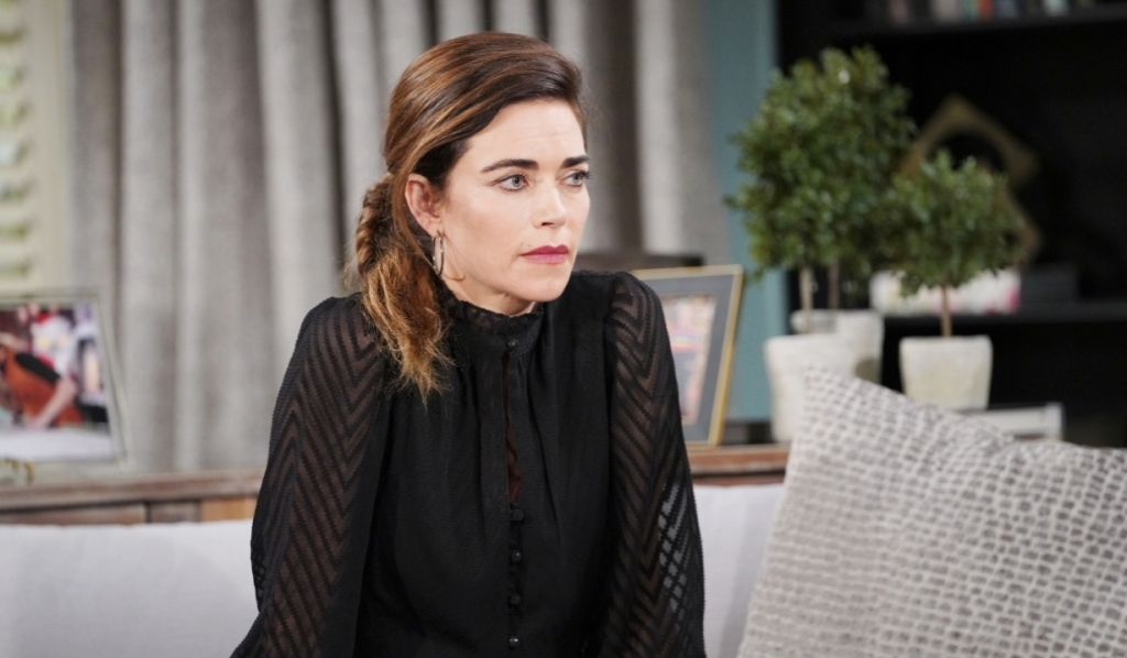 Victoria worries about Ashland at home Y&R