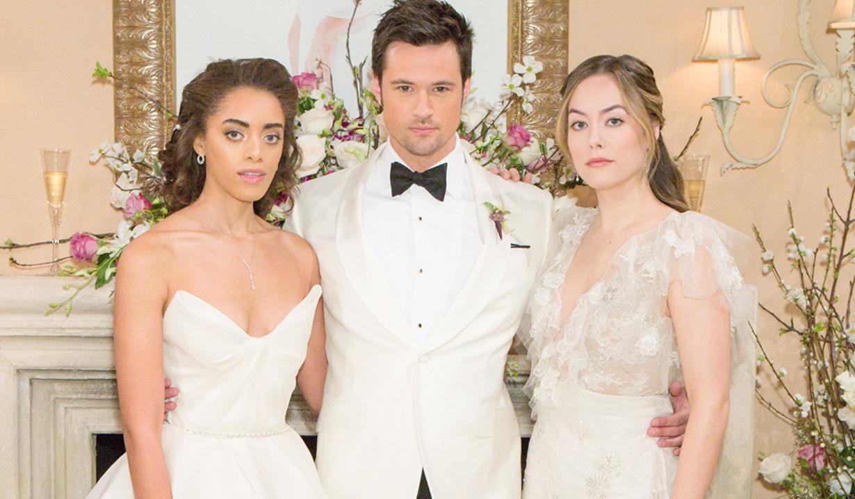 Zoe, Thomas, Hope wedding fail B&B