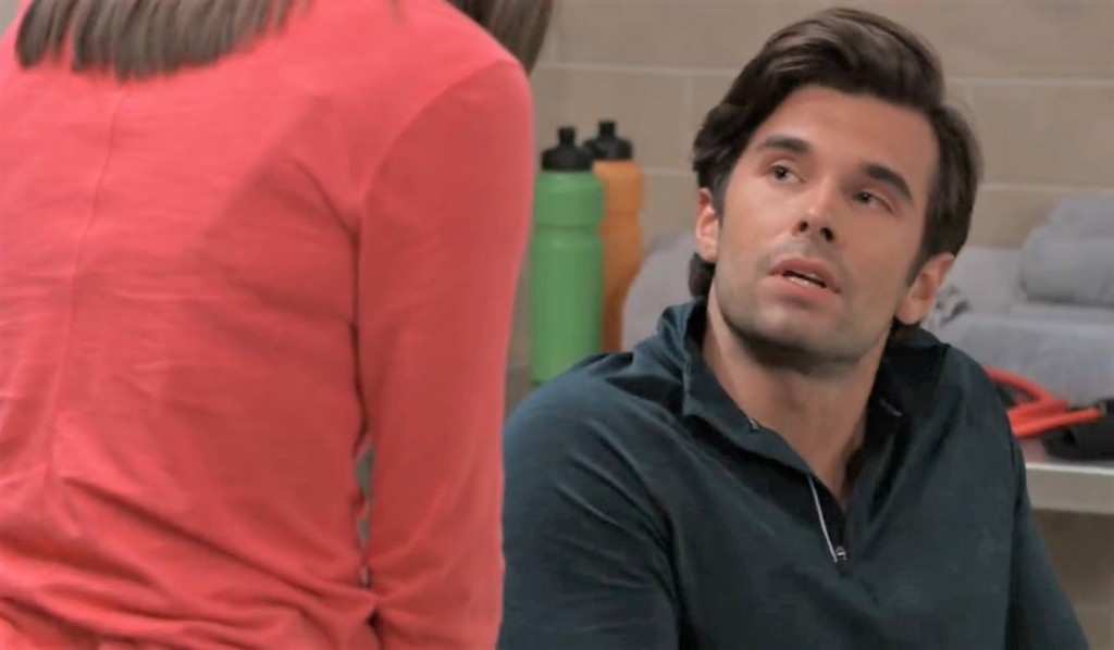 Chase tells Willow he's frustrated at General Hospital