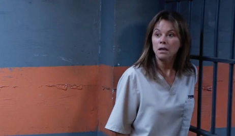 Alexis gets a visitor in prison GH
