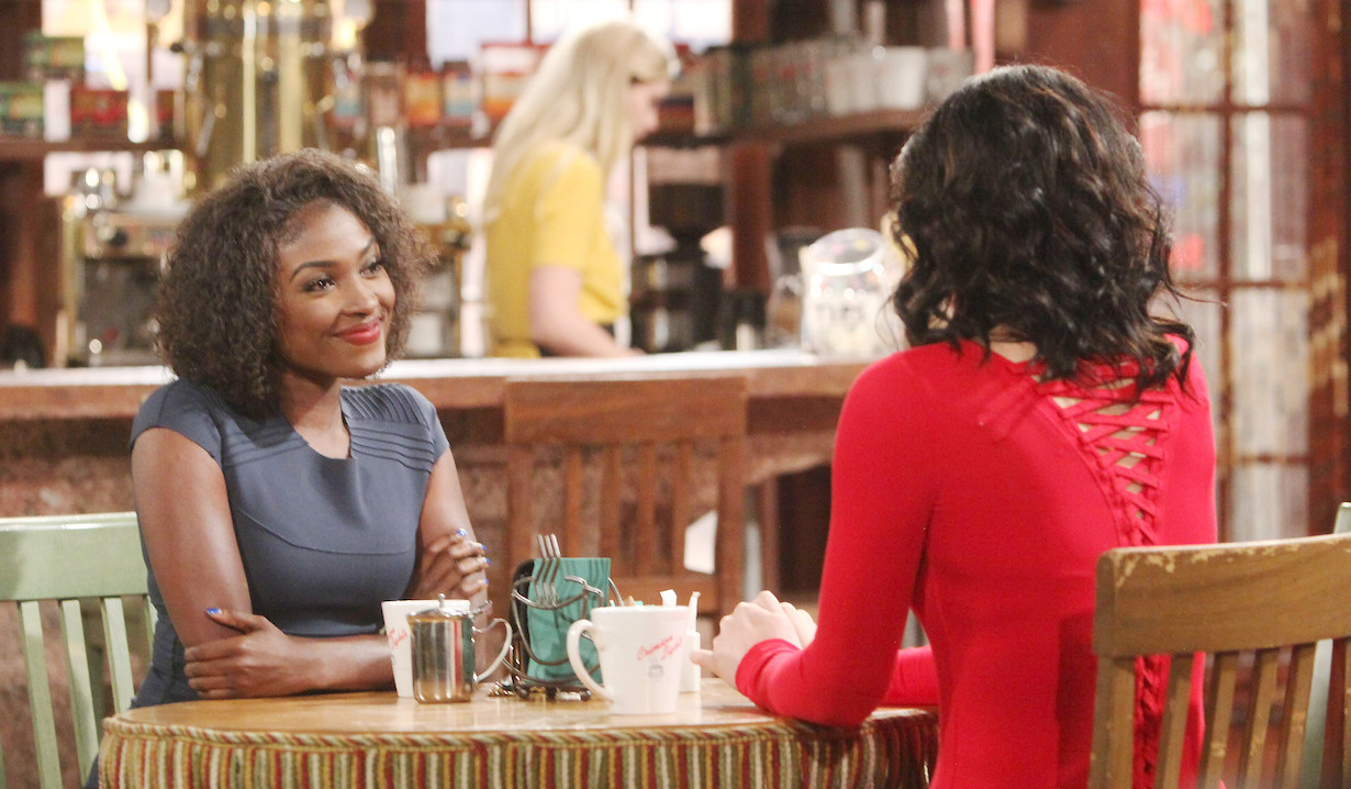 Loren Lott as Ana Hamilton Young and Restless