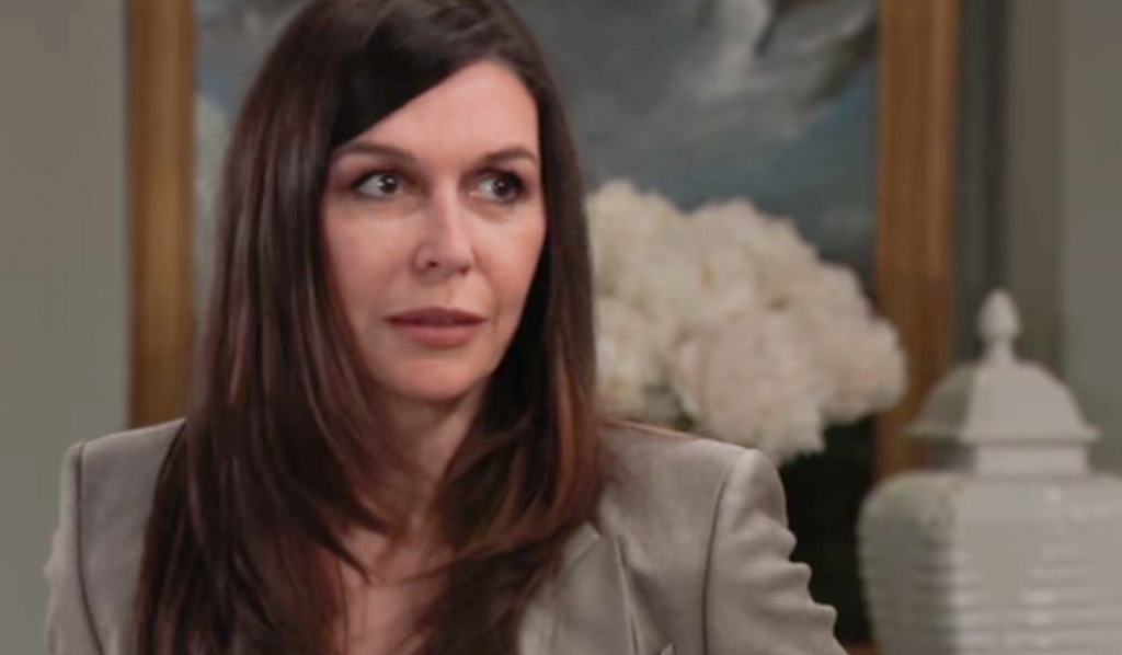 Anna has a theory about Peter on GH