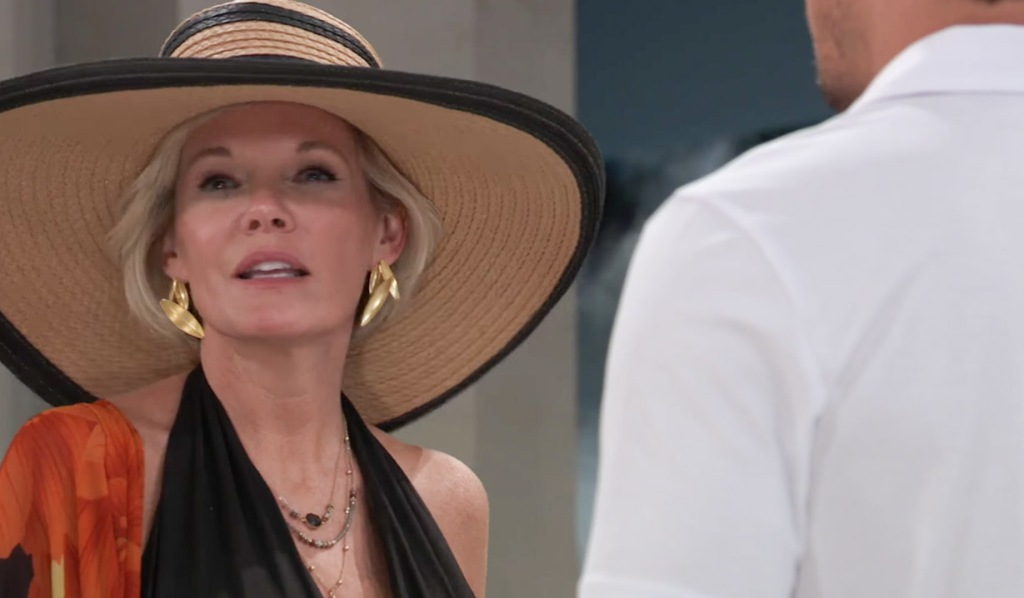 Ava at the pool on GH