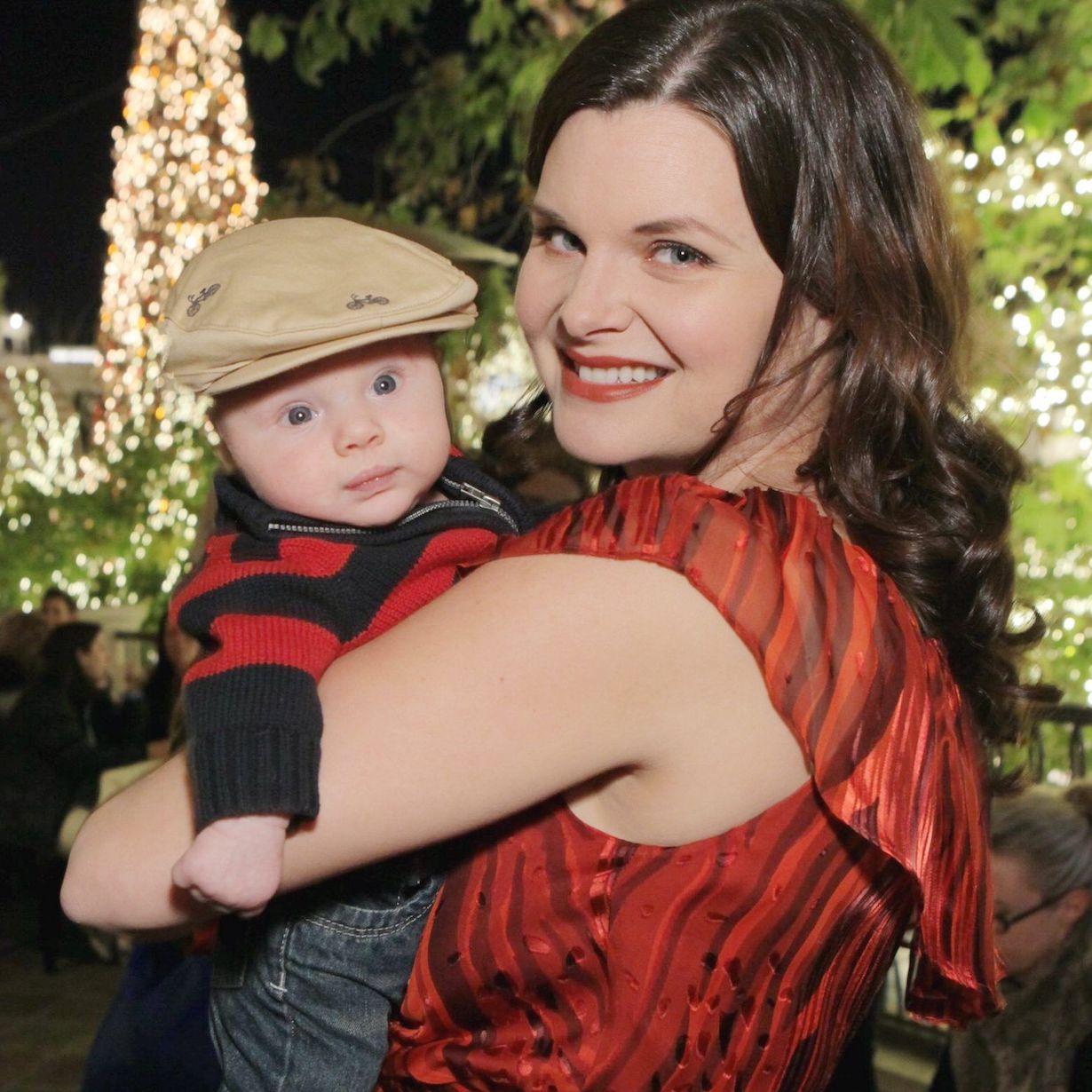 "Heather Tom, Son Zane""The Bold and the Beautiful"" 2012 Christmas PartyThe GroveLos Angeles12/19/12© Howard Wise/jpistudios.com310-657-9661"