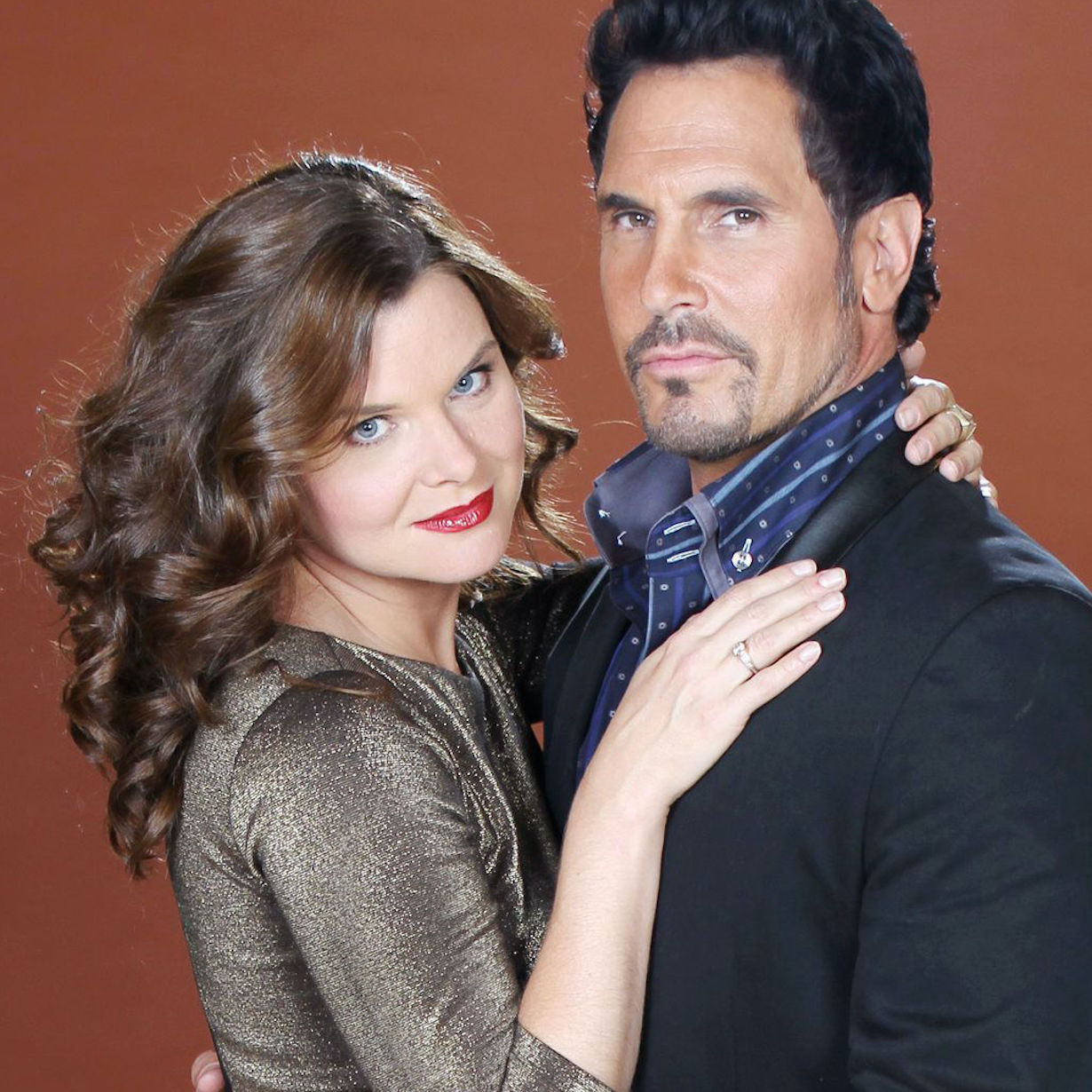"""Heather Tom, Don Diamont, Katherine Kelly Lang""""The Bold and the Beautiful"""" Photo Shoot on Set with CastCBS Television CityLos Angeles, Ca.10/15/13© John Paschal/jpistudios.com310-657-9661"""