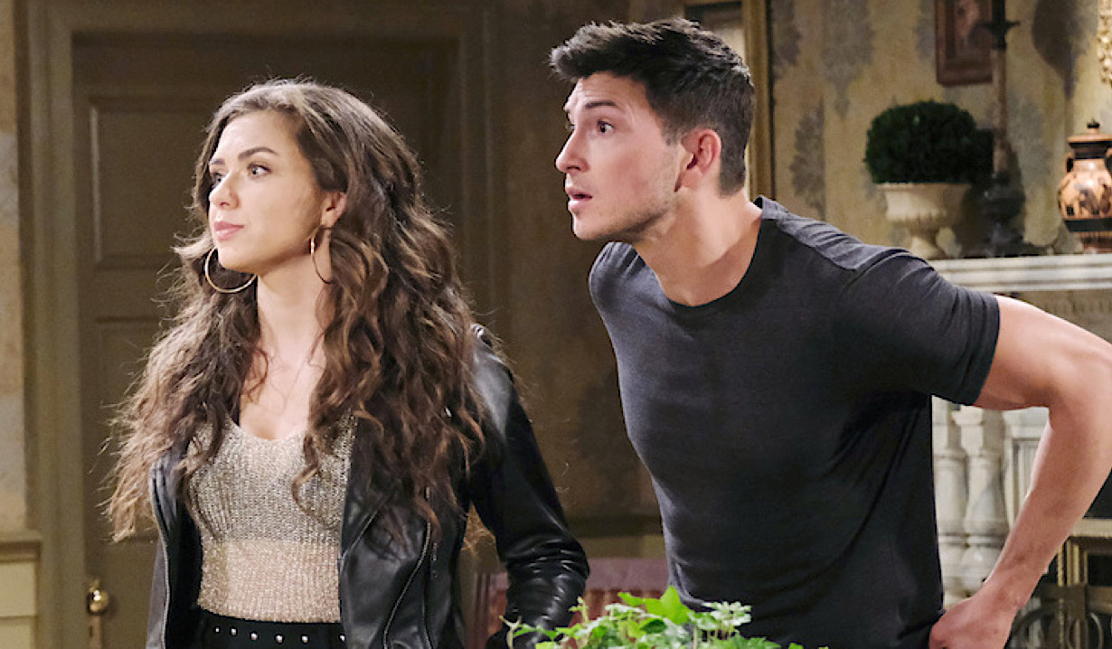 Ben is shocked, Ciara looks annoyed on Days of Our Lives