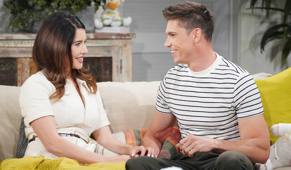 Bold beautiful steffy finny couch hw