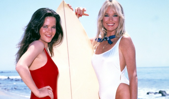 CAPITOL, Leslie Graves & Catherine Hickland, TV, 1983