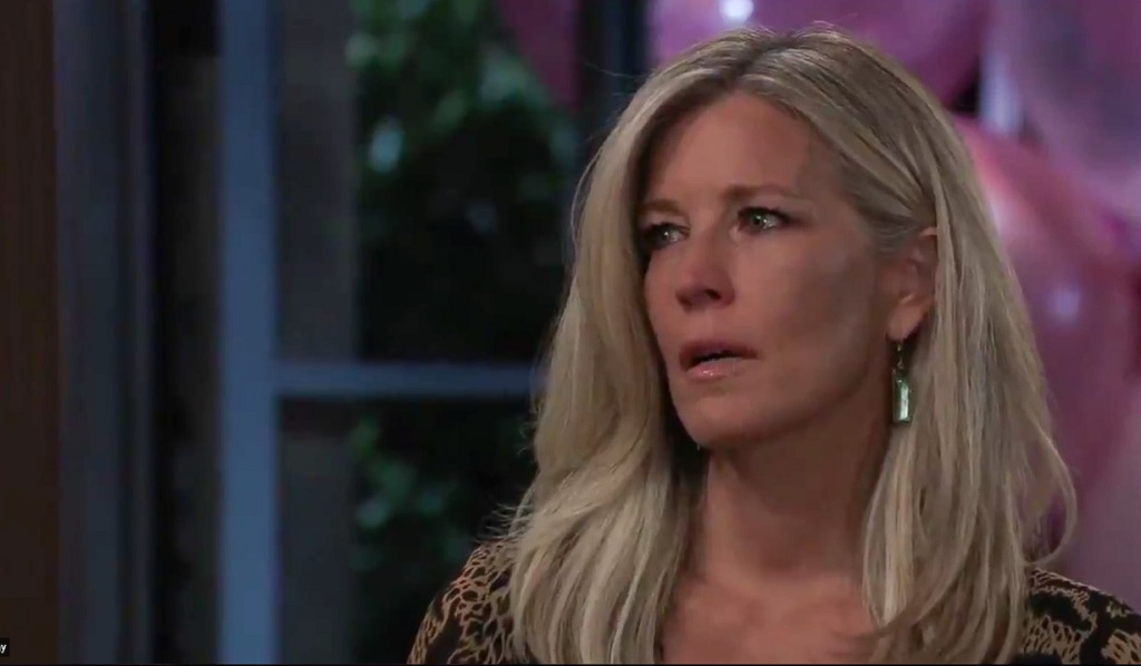 Carly questioned about marriage GH