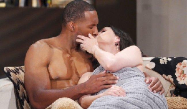 carter and quinn kiss at loft after sex bb