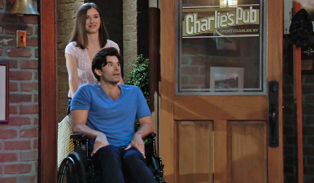 Chase's surprise party on GH
