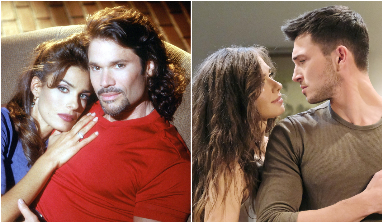 Bo and Hope, and Ben and Ciara on Days of Our Lives