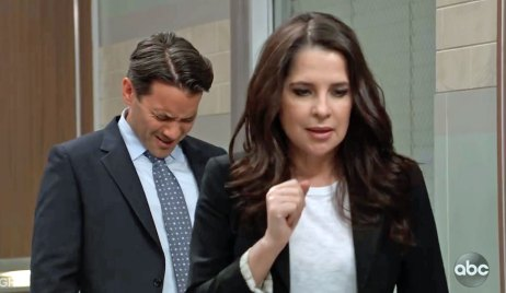 Dante confronts Sam about their kiss GH