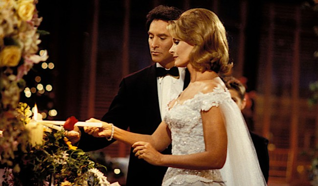 john marlena wedding 1999 Deidre Hall and Drake HogestynDays of our Lives setNBC Studios6/10/99©John Paschal/JPI 310-657-9661episode #8580